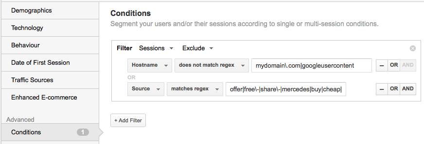 How to Remove Referral Spam from Google Analytics